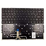 Yaxinglinan Original Compatible with Replacement for Lenovo Yoga 2 Pro 13 Series Backlit Keyboard US Layout Keyboards Black Keyset (Black)