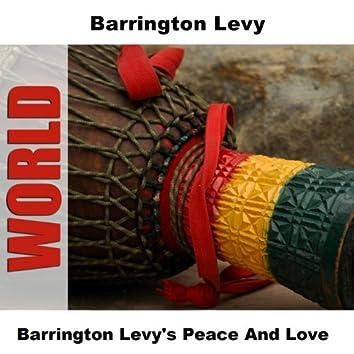 Barrington Levy's Peace And Love