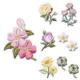 Patches zum Aufbügeln, Blumen