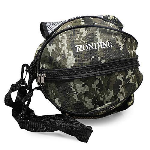 Lixada Basketball Tasche, runde Umhängetasche Tasche, Runde Tasche für Ball Sport, Fußball Ball Volleyball Tragetasche Reisetasche für Männer und Frauen