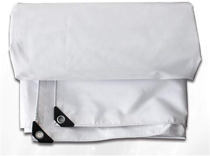 Bache Piscine Intex bache Moto Baches Blanches - Couverture en Feuille Polyvalente Extérieure Résistante Et Imperméable ZHANGQIANG (Couleur   A, Taille   3x5m)