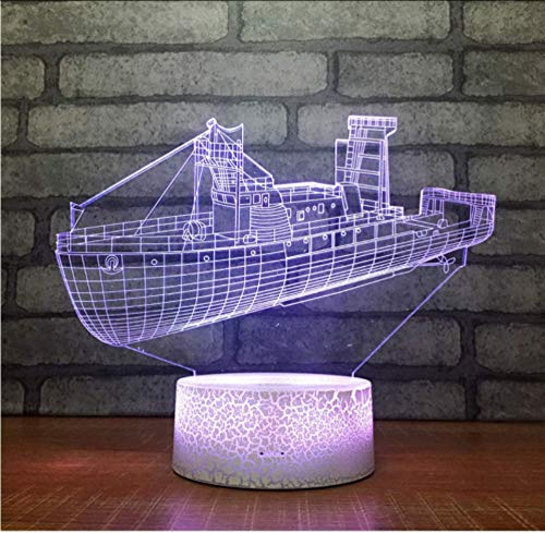 Lampes de table Creative Lamp Gift Factory Vente directe 3D Veilleuse