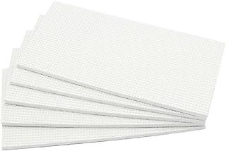 Hettich Paneles Grande Recorte de Patin EVA Autoadhesivo (1x5 Piezas) Patines Goma Adhesivo Almohadillas de Caucho 49523 para Muebles Proteger Antideslizante 200x100mm Rectángulo Blanco