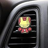Igiene dell'auto Car Deodorante fumetto Deodorante Car Styling Profumo The Avengers stile Marvel for l'aria condizionata Vent uscita Superman Batman freddo di modo (Color Name : Ironman)