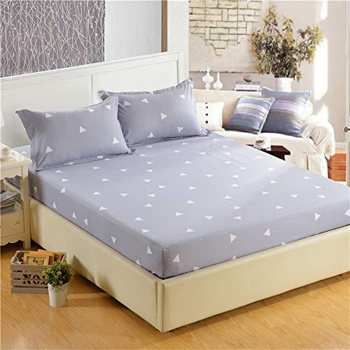 DJNCIA Home 1pc100% poliéster de alta calidad, sábana bajera ajustable elástica para colchón de tamaño personalizable. Calidad del hotel (color: Aidingbao, tamaño: 180 x 220 x 26 cm)