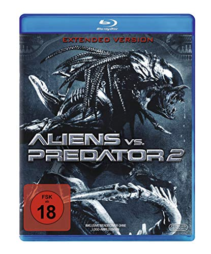 Aliens vs. Predator 2 - Unrated/Extended [Alemania] [Blu-ray]