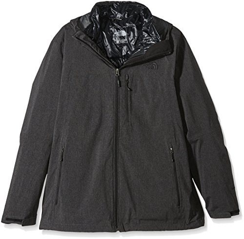 THE NORTH FACE Herren Doppeljacke Thermoball Triclimate, TNF Black Heather, M