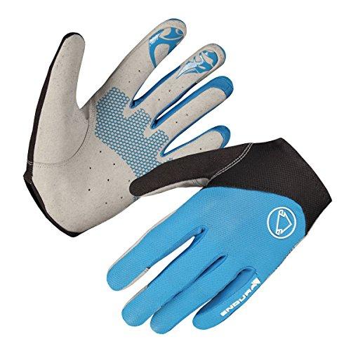 ENDURA - SingleTrack Lite Gloves, Color Azul, Talla L