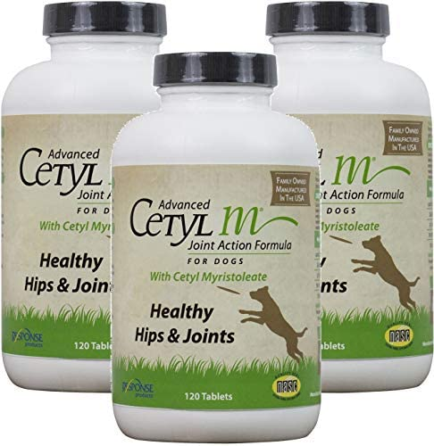 Cetyl M Advanced Joint Action Formula for Dogs 360 Tablets Total 3 Bottles with 120 Tablets product image