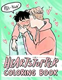 Heartstopper Coloring Book: Heartstopper Stress Relief Coloring Books For Adults, Teenagers Perfectly Portable Pages