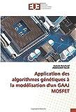 Application des algorithmes génétiques à la modélisation d'un GAAJ MOSFET