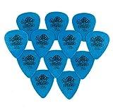 Jim Dunlop Tortex - Set de 12 púas para guitarra / Grosor: 1.00 mm (Paquete de 12)
