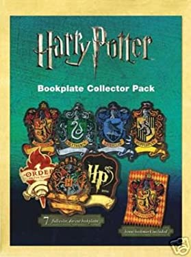 """Harry Potter Collector Pack 7 Full-color, Die-cut Bookplates and 1 Bookmark 3"""" X 5"""""""