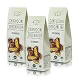 Deseo 3 Confezioni di cantuccini toscani IGP alle mandorle, Biscotti Artigianali - 3 x 125g