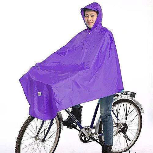 Fiets elektrische driewieler Waterdichte poncho Plastic Regenbescherming Standaardlengte, 100%, Volledige dekking Unisex Regenkleding voor mannen, Vrouwen, Ouderen met een handicap