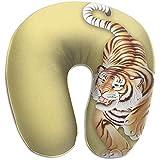 KDU Fashion Almohadas de Viaje,Tiger Pillows Soft Portable para Viajar Leyendo...