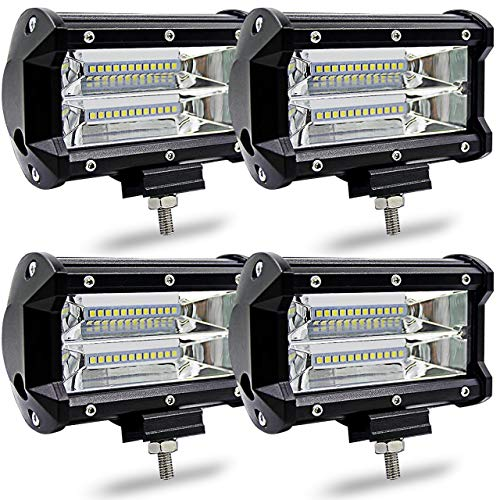 Katur 10,2 cm 36 W LED light bar spot Beam 5500LM Offroad fari LED driving lavoro lampada per camion pickup 12 V 24 V auto luce di marcia diurna luci di guida impermeabile 2-pack
