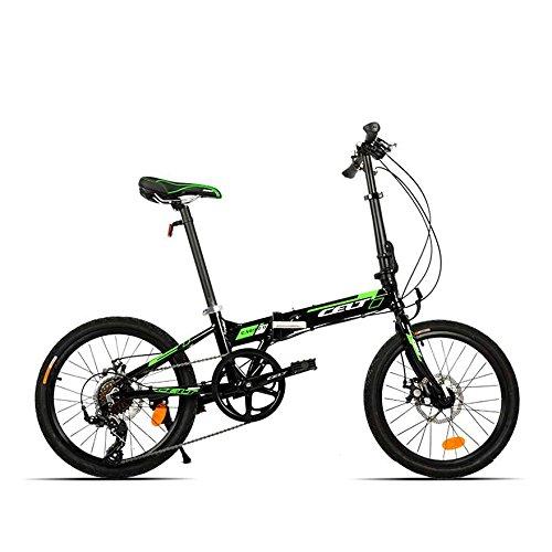 20inch pieghevole della bicicletta Mini pieghevole bici Telaio lega di alluminio a velocitö variabile