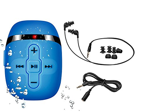 【2020 New Version】8 GB HIFI Sound Waterproof MP3 player for swimming...