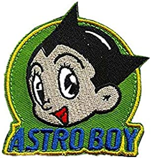 Robot Astro Boy Military Hook Loop Tactics Morale Embroidered Patch