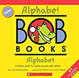 My First Bob Books - Alphabet Box Set | Phonics, Letter sounds, Ages 3 and up, Pre-K (Reading Readiness)