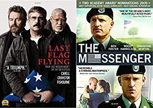 Their Last Mission Wasn't On The Battlefield: The Messenger & Last Flag Flying 2-DVD Movie Bundle
