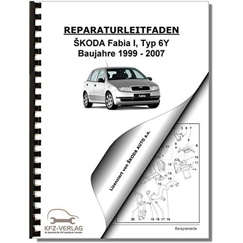 SKODA Fabia Typ 6Y (99-07) 5 Gang Schaltgetriebe 02T Kupplung Reparaturanleitung