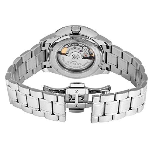 Rotary Orologio Analogico al Quarzo da Uomo con Cinturino in Acciaio Inox GB90161/02
