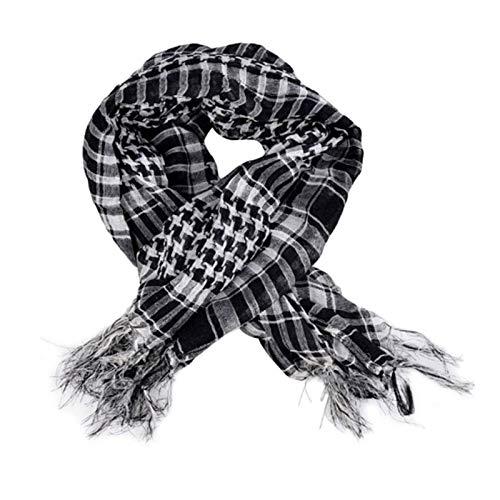 N-B Bufanda árabe, Bufanda cómoda de los Deportes del algodón y Bufanda al Aire Libre antiestática