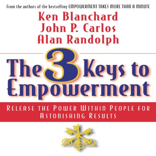 The 3 Keys to Empowerment audiobook cover art