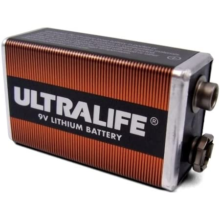 Ultralife 9v Lithium Battery U9vl J Elektronik