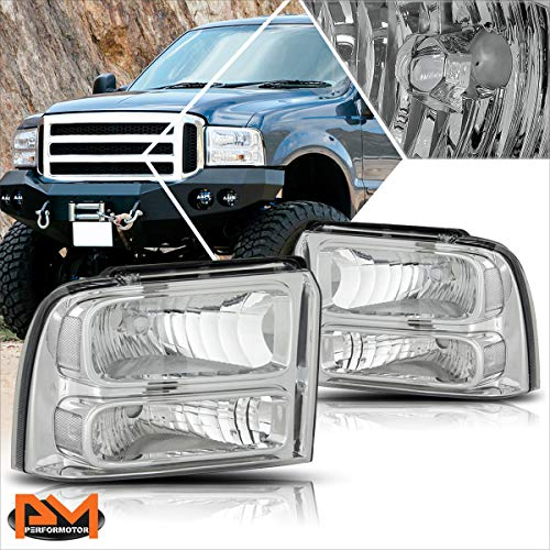 Headlights Assembly Compatible with Ford F250 F350 Super Duty 05-07 Headlamps...