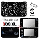 Pokemon Sun Moon Solgaleo Lunala Go Skin Decal Sticker Cover for Original Nintendo 3DS XL
