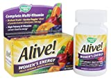 Nature's Way Alive Women's Energy MultiVitamin-Multimineral Tablets - 50 CT (Pack of 3)