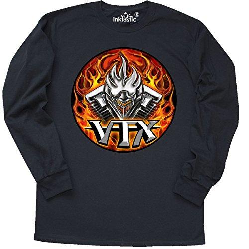 Inktast Long Sleeve T-Shirt X-Large Black - WickedApparel by Michael Spano 1eea9