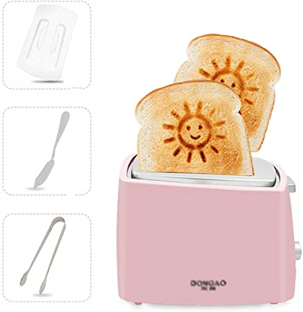 Toaster Automatic Toaster Home Breakfast Toaster Mini 2 Soil Driver Small Kitchen Appliances Color Pink Size 20 12 16cm Amazon Co Uk Kitchen Home