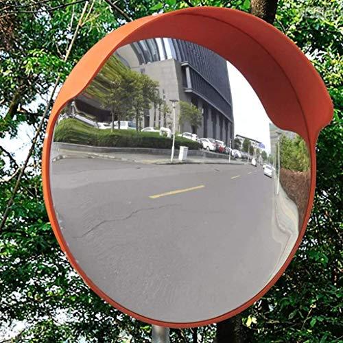 L.TSN Espejo de estacionamiento cóncavo de fábrica, Protector Solar a Prueba de Lluvia Espejo de tráfico Exterior Sótano Espejo Convexo de Zona ciega 30-120 cm (tamaño: 120 cm)