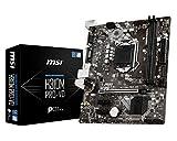 MSI Pro Series Intel Coffee Lake H310 LGA 1151 DDR4 Onboard Graphics Micro ATX Motherboard (H310M...
