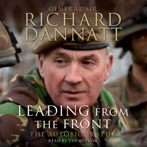 Leading from the Front audiobook cover art