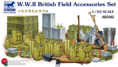 Unbekannt Bronco Models ab3562 – Modélisme zubehrö WWII British Field Accessories Set