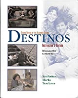McDougal Littell Destinos: Instructor s Edition Grades 9-12 2002 0072497173 Book Cover