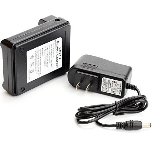 Antoble EN-EL4 EN-EL4a EN-EL4e Battery Charger MH-21 MH-22 Replacement for Nikon D3x D3 D2Xs D2X D2Hs D2H F6 MB-D10 Camera