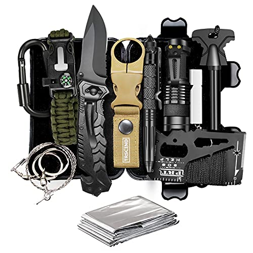 TRSCIND Compact 11-in-1 Survival...