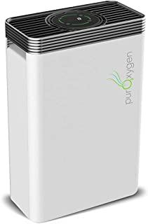 PURO²XYGEN P500 - Hepa Air Purifier for Home with UV Light Sanitizer & Ionizer, Up to 550 sq ft Large Room Air Purifier, ...