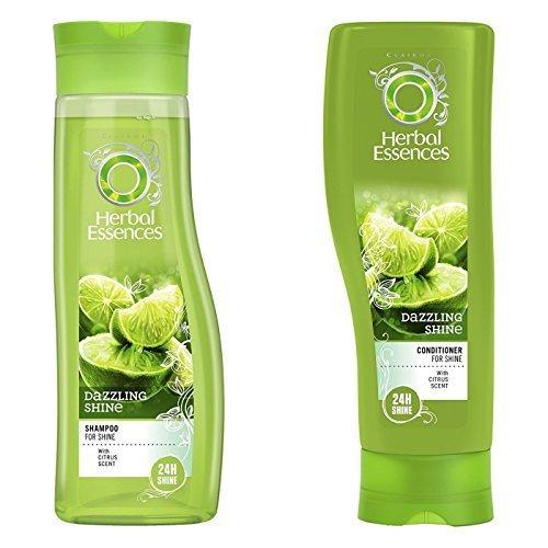 Herbal Essences Brillance Shampoo & Conditioner im Set, mit Zitrusduft Paket mit exklusiven Beauty-Tipps (evtl. nicht in deutscher Sprache)