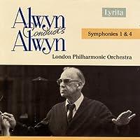 Alwyn conducts Alwyn: Symphonies 1 & 4 by ALWYN WILLIAM (2006-11-14)