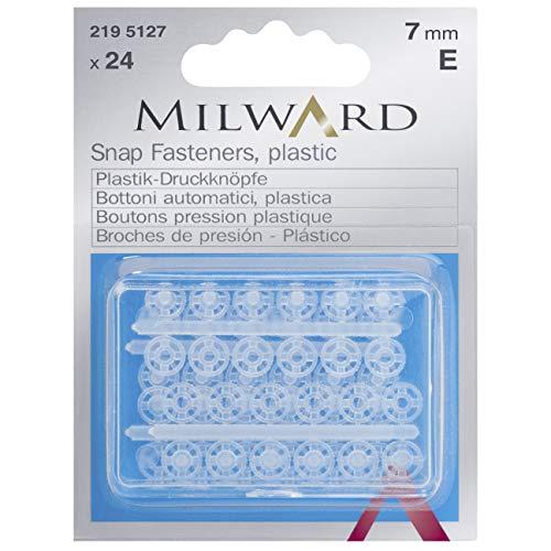 Milward Mercería Tarjeta De Autoservicio con Caja De Plástico con Broches De...