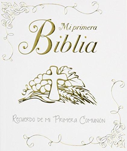Mi primera Biblia. Una historia de amor: Recuerdo de mi Primera Comunión (Biblias infantiles) - 9788428549639