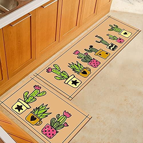 OPLJ Alfombrillas de Cocina de Estilo Europeo Alfombrillas de Ducha de impresión 3D Alfombrillas de Puerta Alfombra de baño Alfombrillas Interiores A3 40x60cm