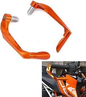 Protector de palanca de freno de color naranja 3DCNC para manillares de aluminio de 7/